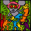 andy mouse by keith haring