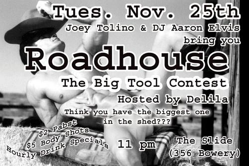 Roadhouse Biggest Tool (tues. 11-25-03)